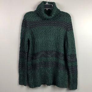 NWT Universal Thread Sweater Green and Gray Medium